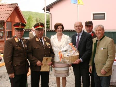 60 Jahre Feuerwehrdienst - EOBR Florian Breis