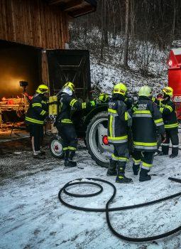 Brandeinsatz in Sittendorf